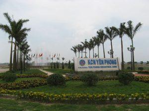 Khu Công Nghiệp mở rộng Sam Sung ở Bắc Ninh