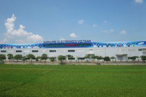 Nhà máy Sam Sung ở Phổ Yên Thái Nguyên