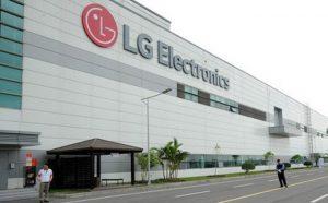 Nhà Máy LG ở Khu Công Nghiệp Tràng Duệ Hải Phòng