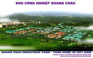Khu Công nghiệp Quang Châu ở Bắc Giang
